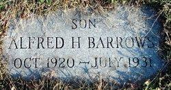 Alfred Harry Barrows