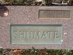 Mrs Lewis E Shumate