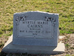 Myrtle Marie <i>McMillan</i> Cairns