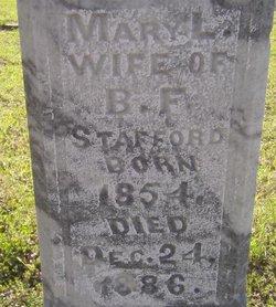 Mary L. <i>Rhodes</i> Stafford