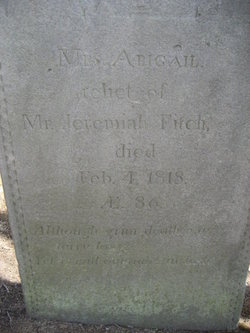 Abigail <i>Whitmore</i> Fitch
