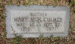 Mary Catherine <i>McHale</i> Culmer