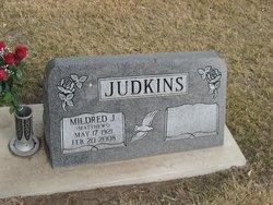 Mildred J. <i>Matthews</i> Judkins