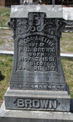 Rhoda Adeline <i>Sanford</i> Brown