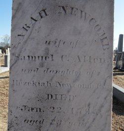 Sarah <i>Newcomb</i> Allen