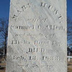 Mary <i>Hunt</i> Allen