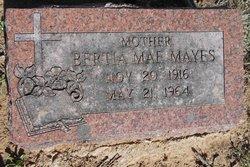 Bertia Mae <i>Kiker</i> Mayes