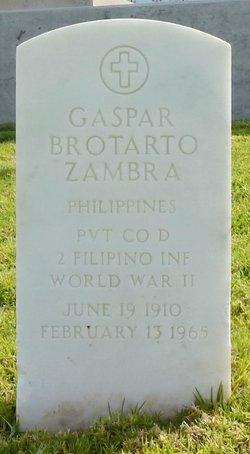 Gaspar Brotarto Zambra