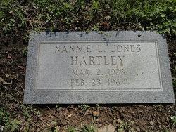 Nannie L. <i>Jones</i> Hartley