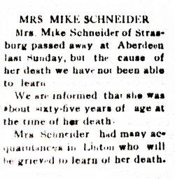 Barbara <i>Eisenzimmer</i> Schneider