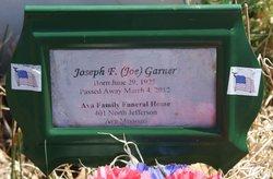 Joseph F. Joe Garner