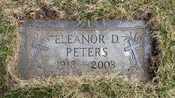 Eleanor D <i>Mikolasek</i> Peters