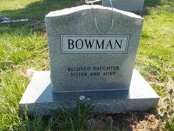 Bertha Mae Bowman