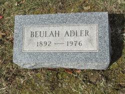 Beulah <i>Marx</i> Adler