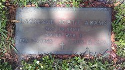 Sgt Lawrence Scott Adams