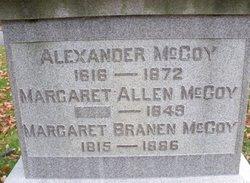 Margaret <i>Brannan</i> McCoy