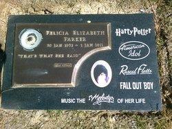 Felicia Elizabeth Parker