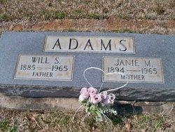 Will Shipman Adams