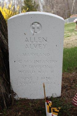 PFC Allen Alvey