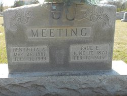 Paul E. Meeting