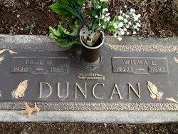 Wilma L <i>Lewis</i> Duncan