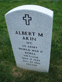 Albert M Akin