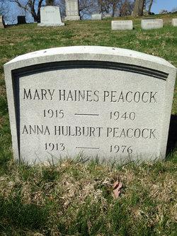 Anna Hulburt Peacock