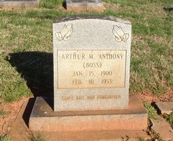 Arthur McKinley Boss Anthony