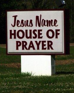 Jesus Name House of Prayer Cemetery