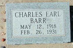 Charles Earl Earl Barr