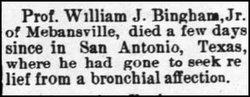 William J Bingham