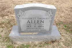 Harriett <i>Thomas</i> Allen