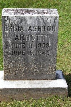 Lydia <i>Ashton</i> Arnott