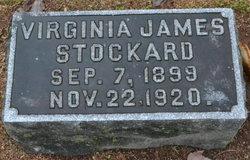 Virginia <i>James</i> Stockard