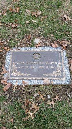 Anna Elizabeth <i>Tompkins</i> Brown