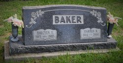 Halcyen E. <i>Stout</i> Baker
