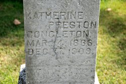 Katherine <i>Preston</i> Congleton