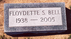 Floydette <i>Spence</i> Bell