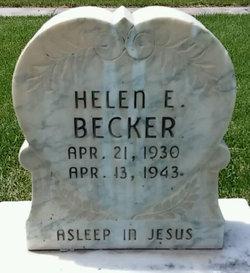 Helen E Becker