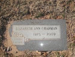 Elizabeth Ann Betty <i>Matthews</i> Chapman