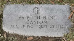 Iva Ruth <i>Hunt</i> Caston