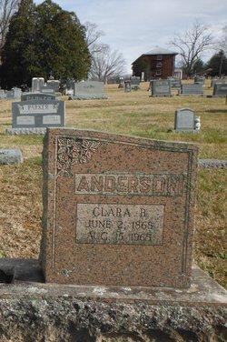 Clara B <i>Broyles</i> Anderson
