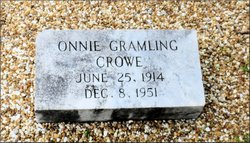 Onnie <i>Gramling</i> Crowe
