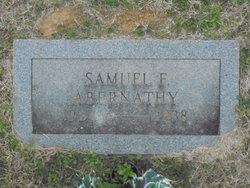 Samuel F Abernathy