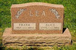 Alice Jean <i>McGowan</i> Lea