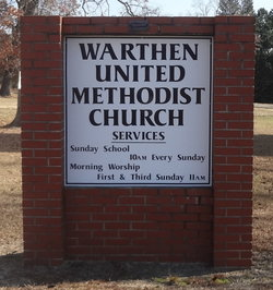 Warthen United Methodist Church Cemetery