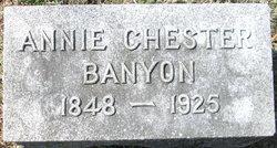 Ann C <i>Chester</i> Banyon