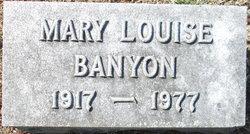 Mary Louise <i>Warner</i> Banyon