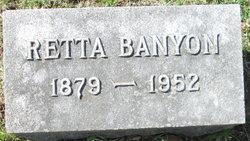 Retta Banyon