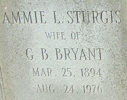 Ammie <i>Sturgis</i> Bryant